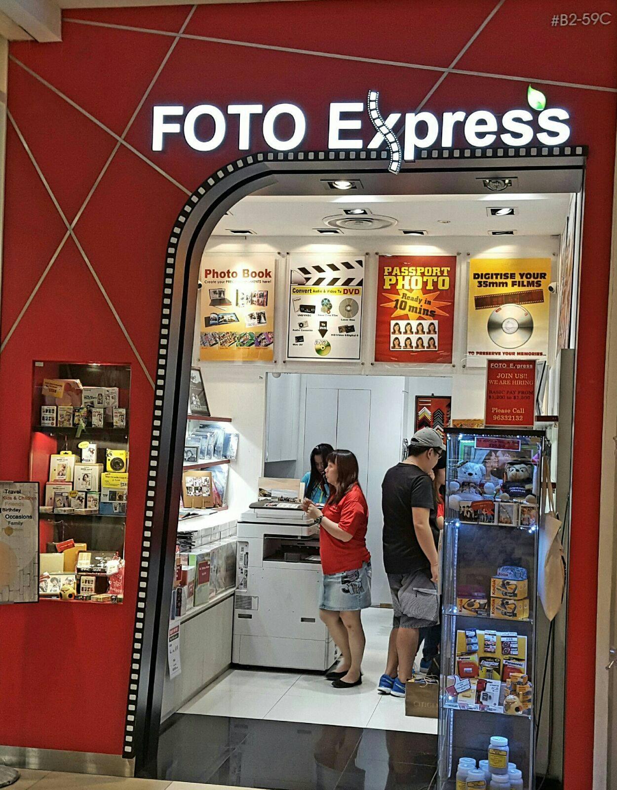 Foto express clementi mall 40